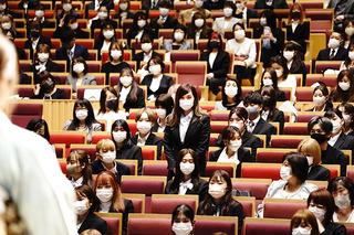 私の入学式