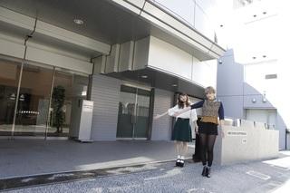 国際文化理容美容専門学校・美容学校・渋谷校入口