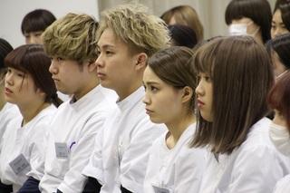 国際文化理容美容専門学校 終業式